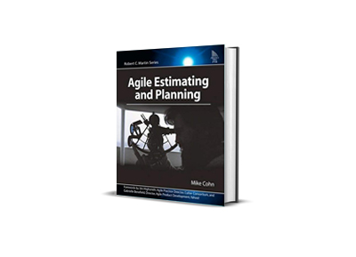 Agile estimation and planning,<br>Mike Cohn
